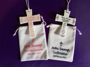 Personalised Confirmation Cross & Gift Bag